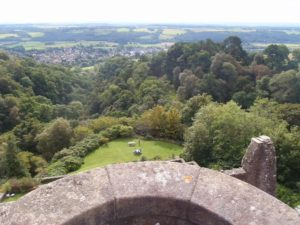 View from Castle Campbell
