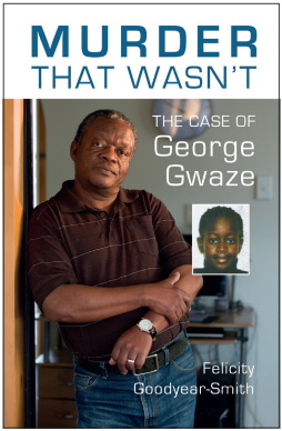 Book cover: Murder that wasn�t - the case of George Gwaze